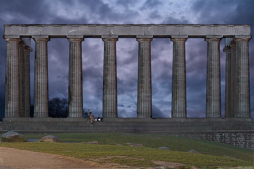 National Monument of Scotland_clouds